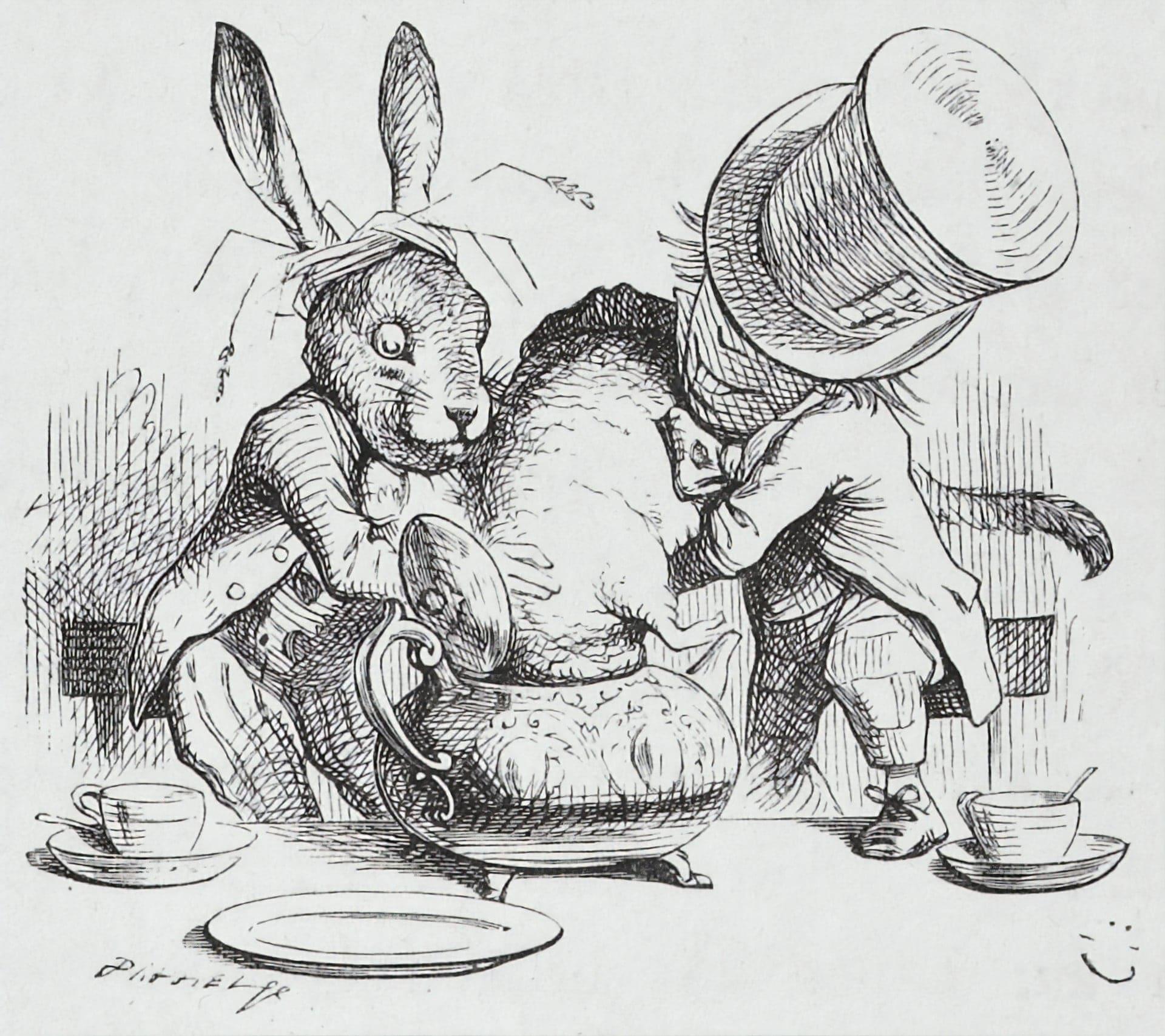 Алиса в Стране чудес - Джон Тенниел