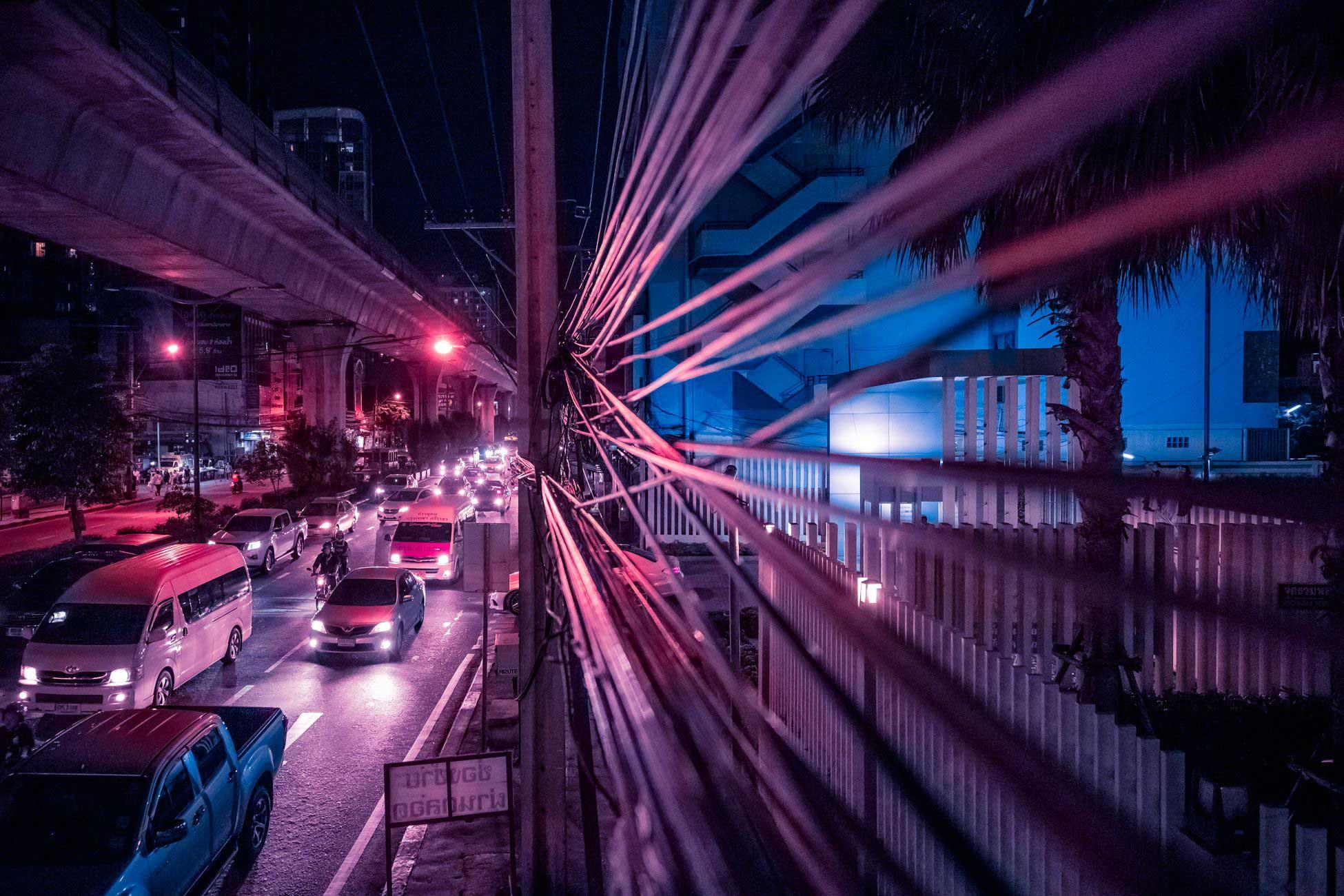 Ночной Bangkok