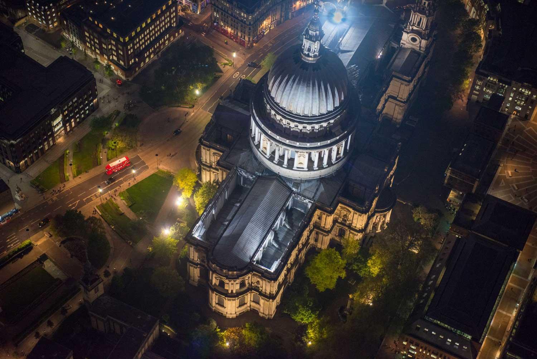 Аэрофотосъемка Лондона