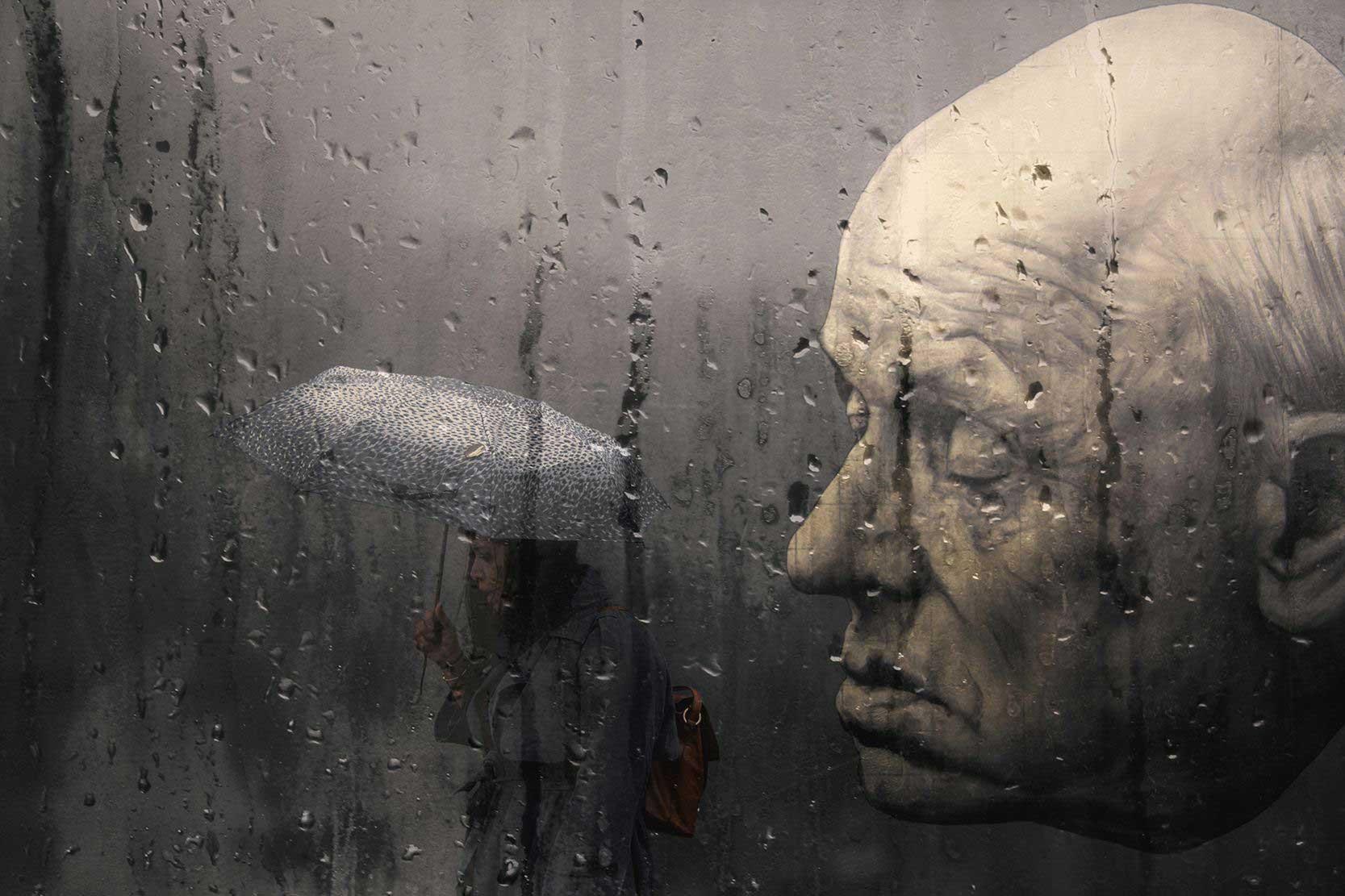 Капли дождя меланхоличный блюз Alessio Trerotoli