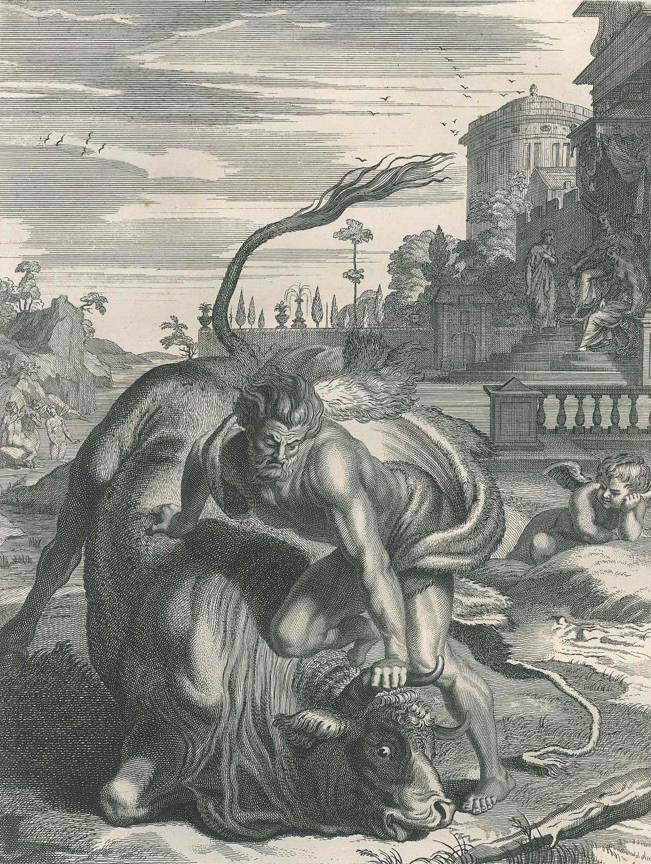 Lithograph - Bernard Picart 1742