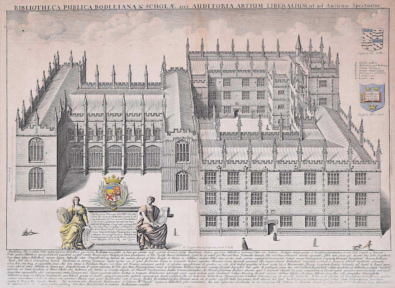 Lithograph - David Loggan 1675