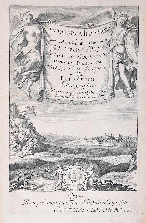 Lithograph - David Loggan 1715
