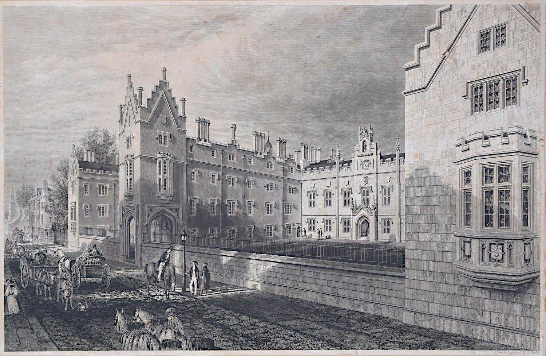 Lithograph - Ebenezer Challis 1834