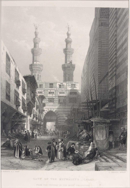Lithograph - Ebenezer Challis 1860s