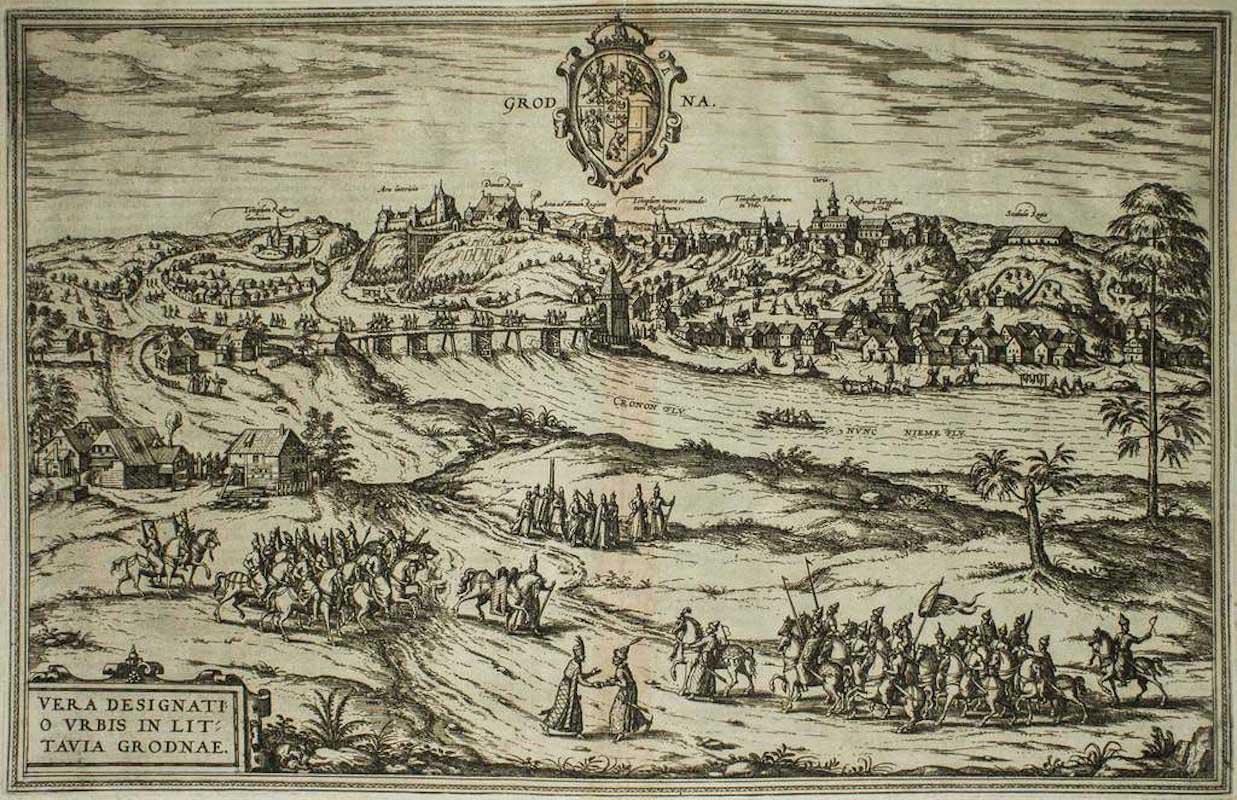 Lithograph - Franz Hogenberg 1575