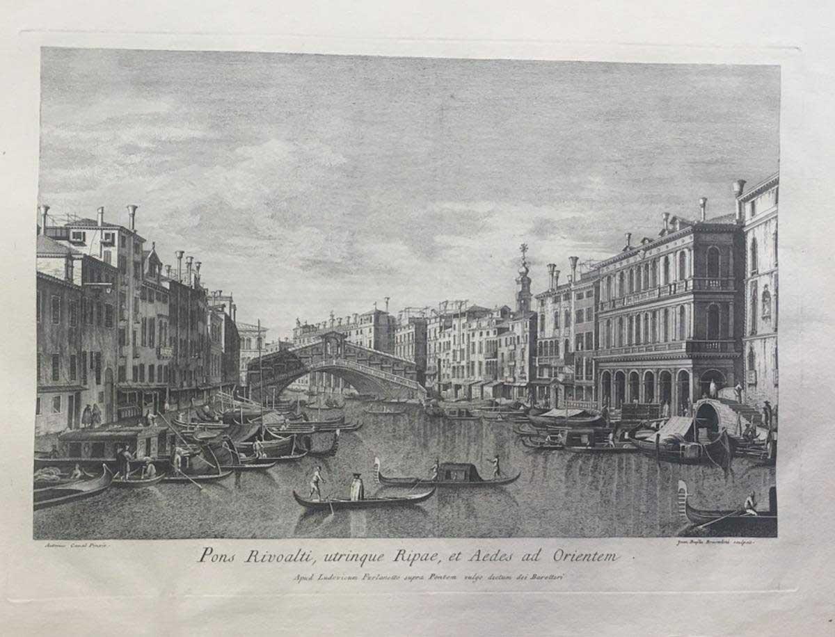 Lithograph - Giovanni Battista Brustolon 1763