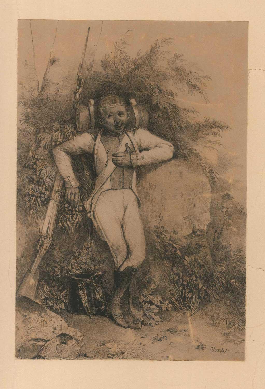 Lithograph - Nicolas Touissaint Charlet 1800s