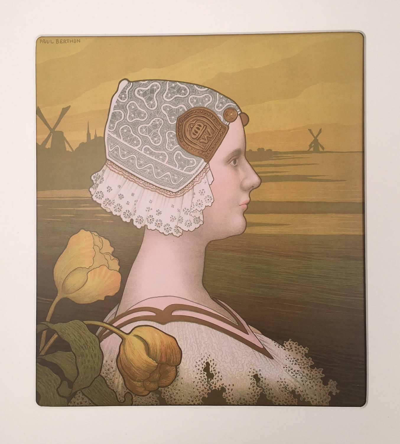 Lithograph - Paul Berthon 1901
