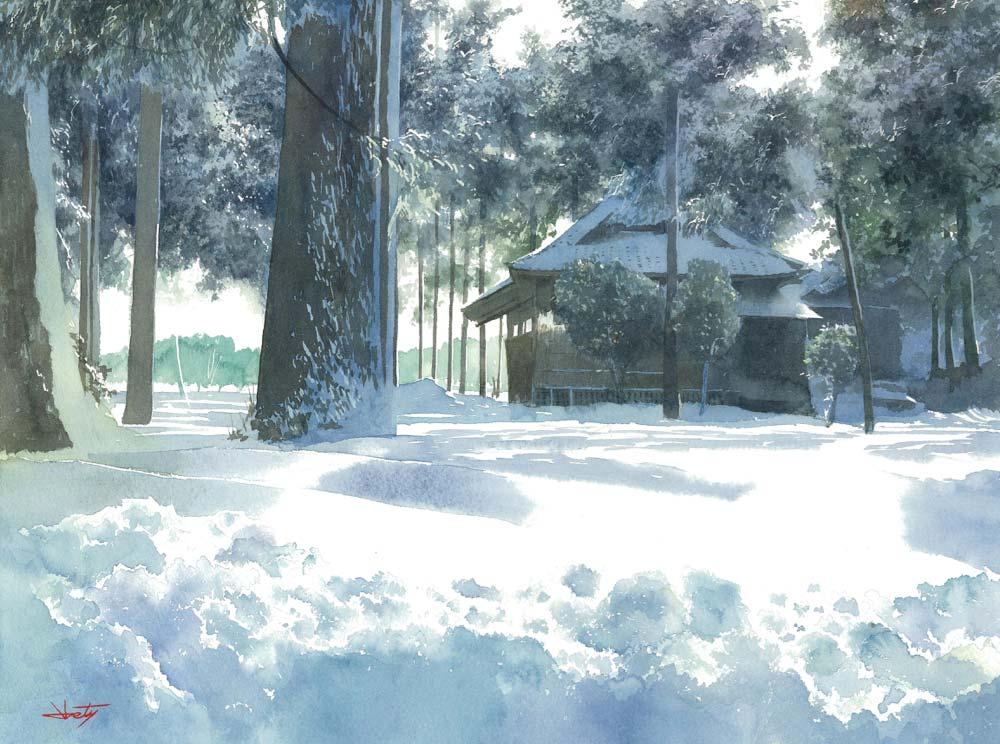 Abe Toshiyuki - Зима 2015