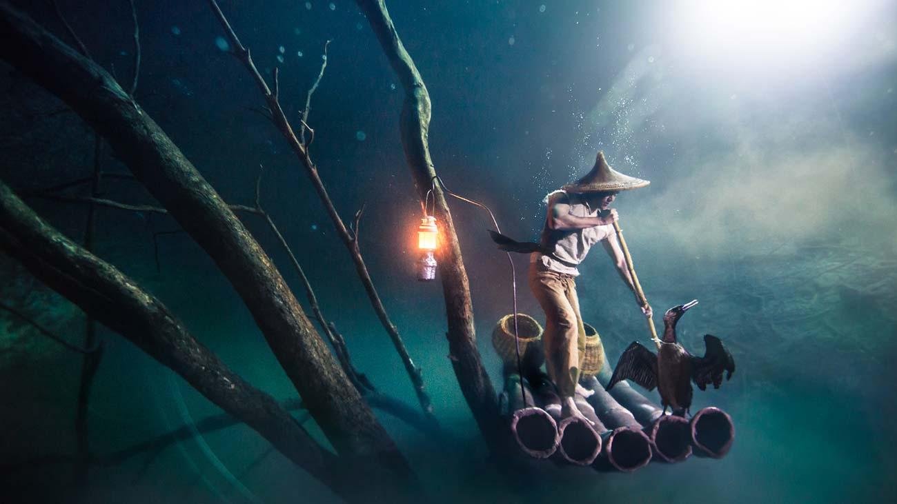 Benjamin Von Wong - Cormorant Fisherman