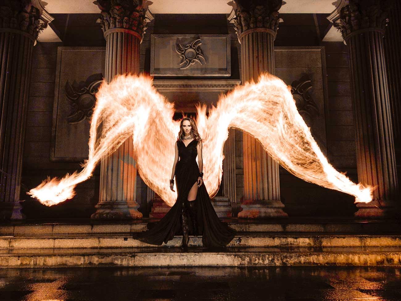 Benjamin Von Wong - Fire Angel