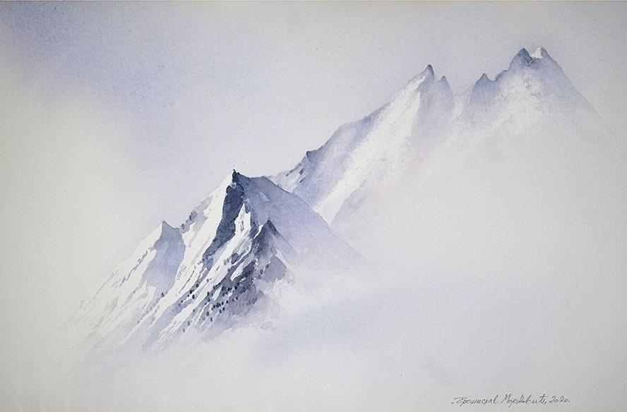 Бранислав Маркович Умбра - Снежная вершина