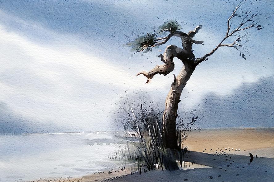 Бранислав Маркович Умбра - Старое дерево