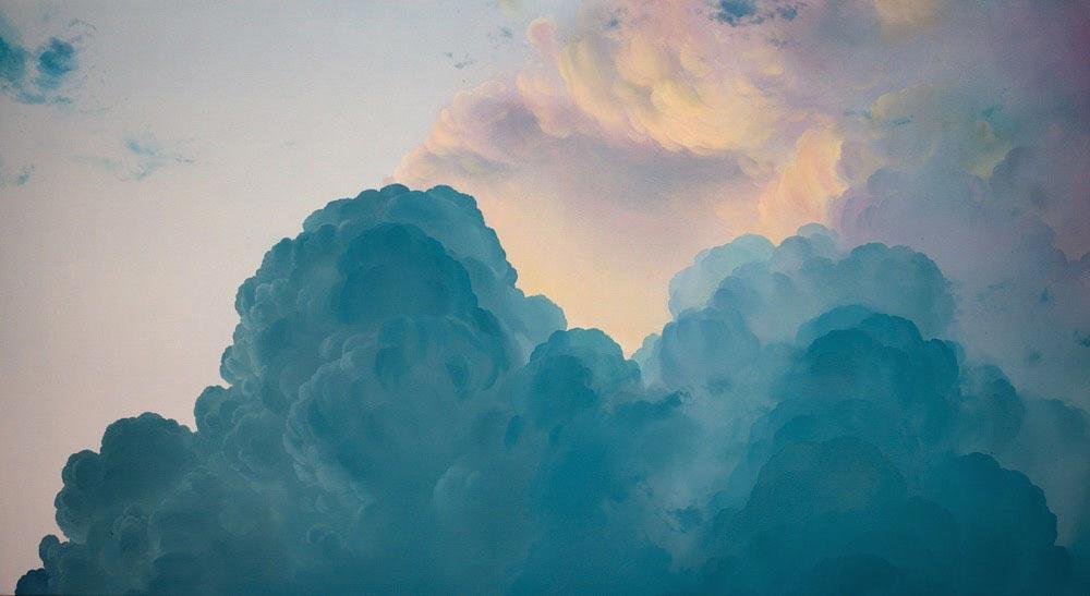 Ян Фишер художник вдохновленный небом