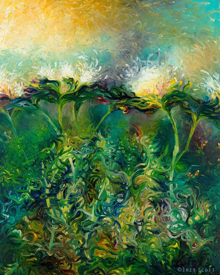 Iris Scott - Artichoke Bloom