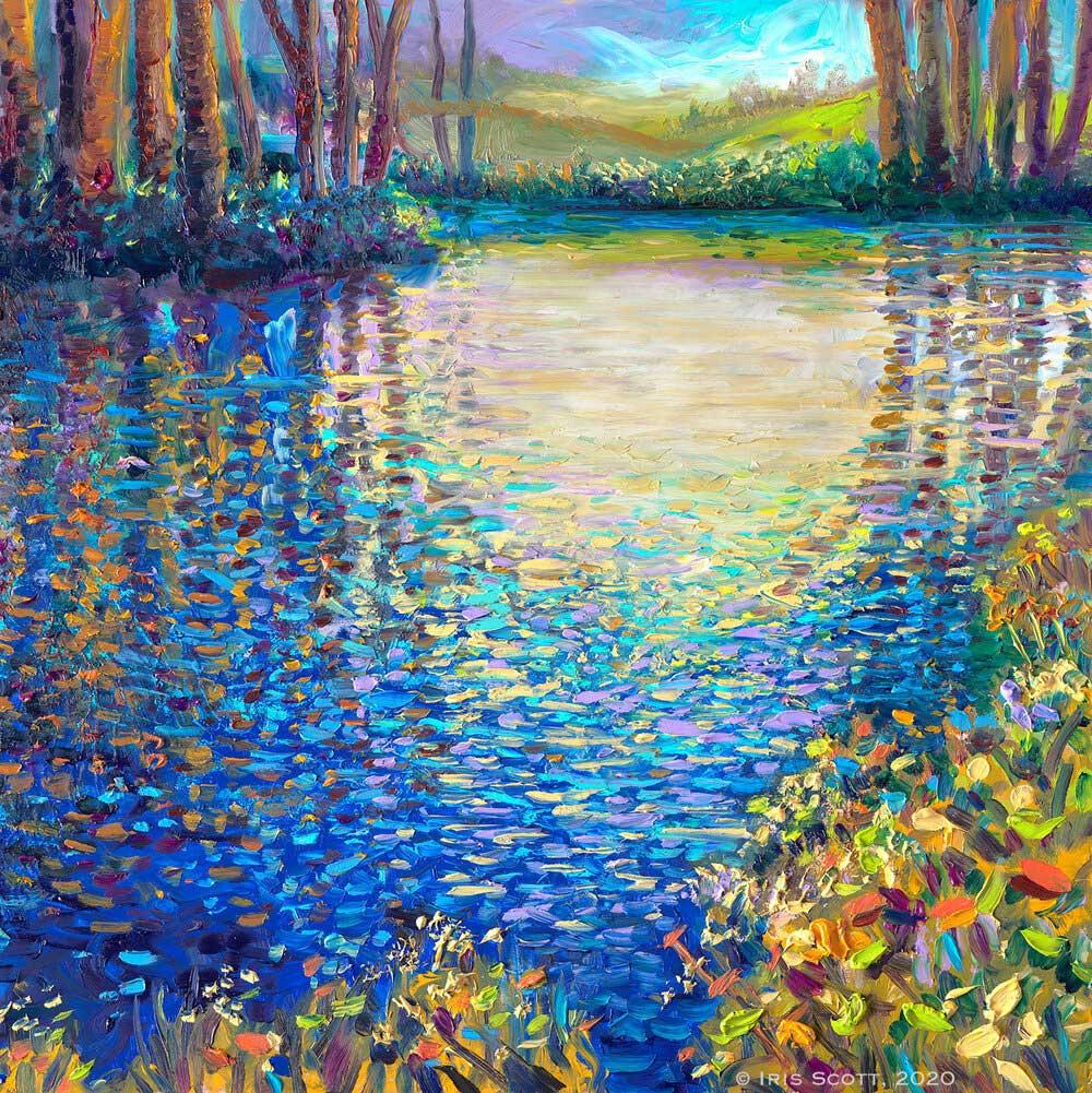Iris Scott - Голубая лагуна