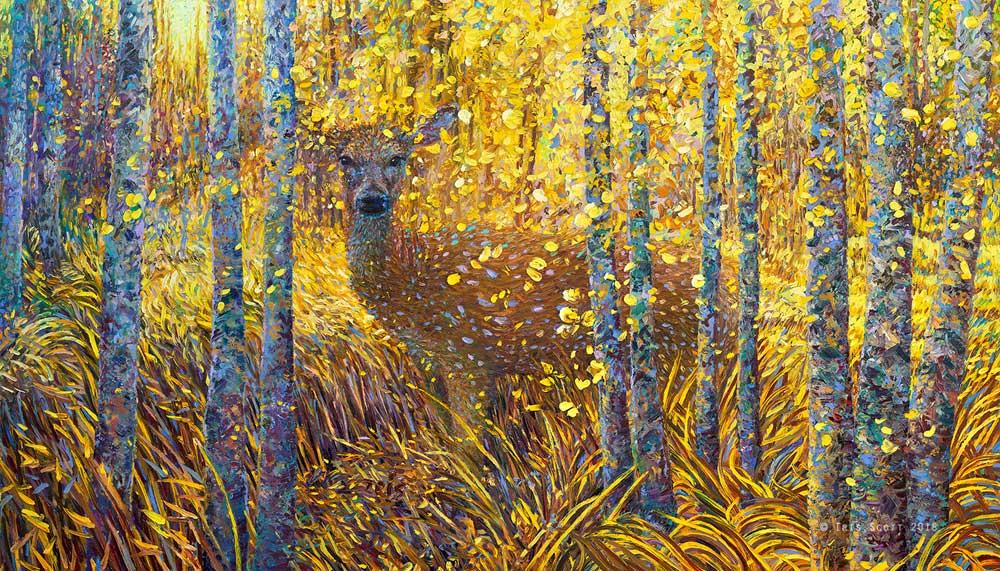 Iris Scott - Скромник олень
