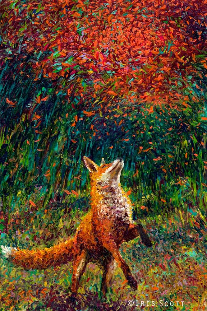 Iris Scott - Огненная лиса