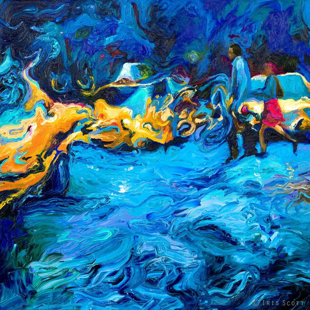 Iris Scott - Бег под дождем