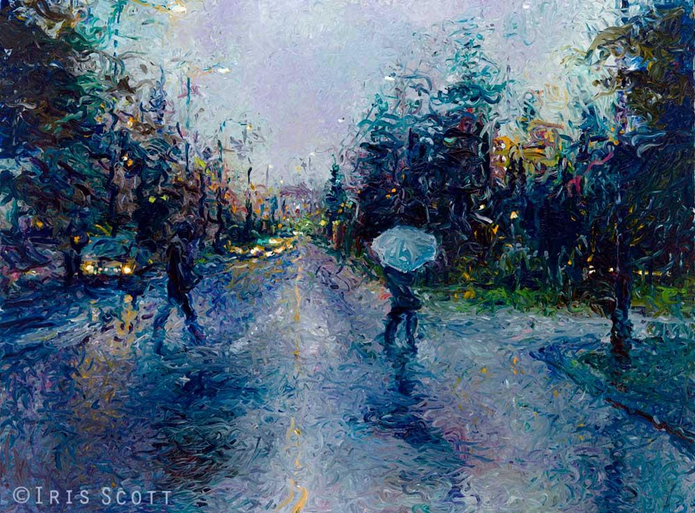 Iris Scott - Скользкий тротуар