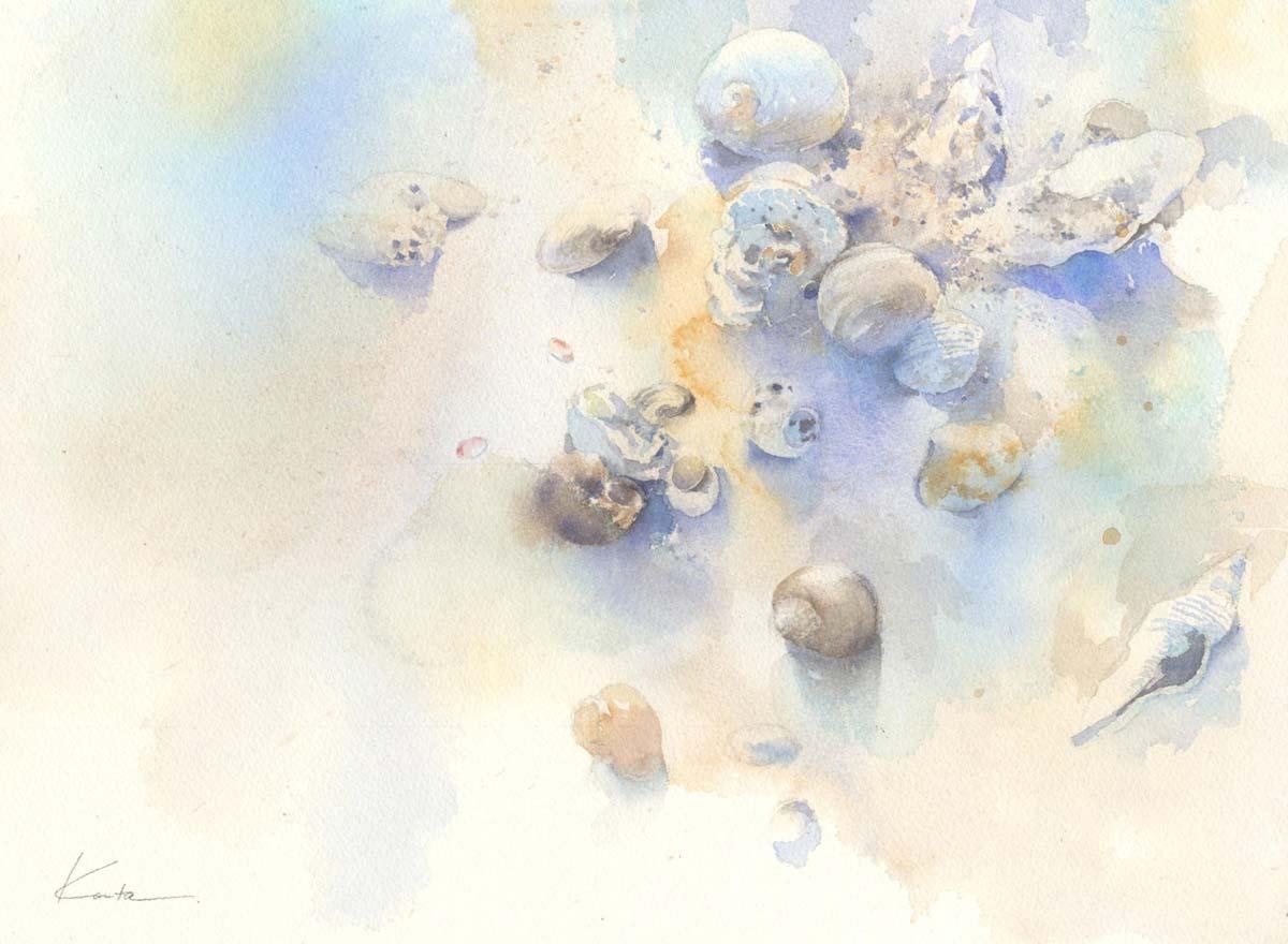 Тонкие пейзажи Канта Харусаки