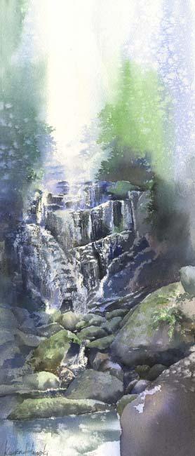 Канта Харусаки - Водопад Сиратио