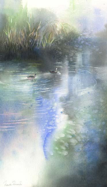 Канта Харусаки - Поверхность воды