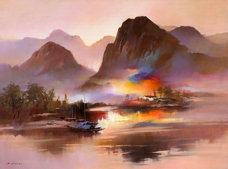 Ken Hong Leung - На берегу реки