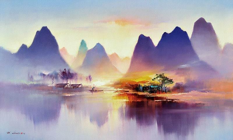 Ken Hong Leung - Пробуждение деревни
