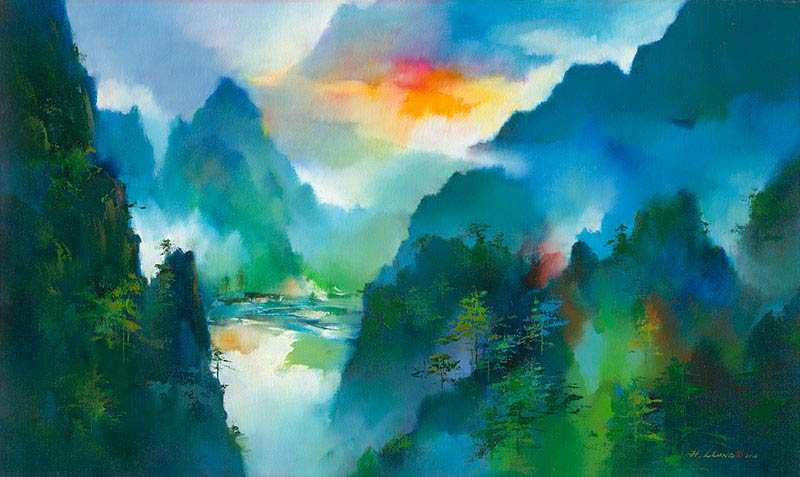 Ken Hong Leung - Долина оттенков