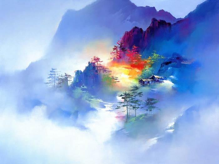 Магические Пейзажи Ken Hong Leung (Кен Хонг Люн)