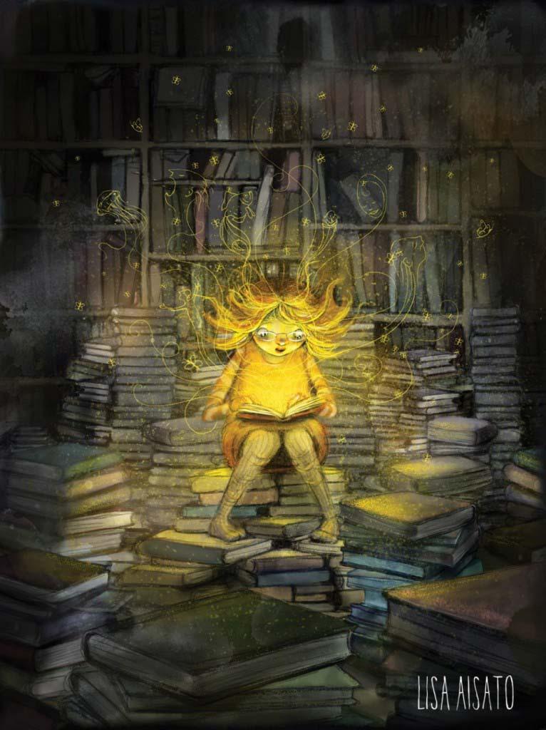 Lisa Aisato - Девочка которая хотела сохранить книги