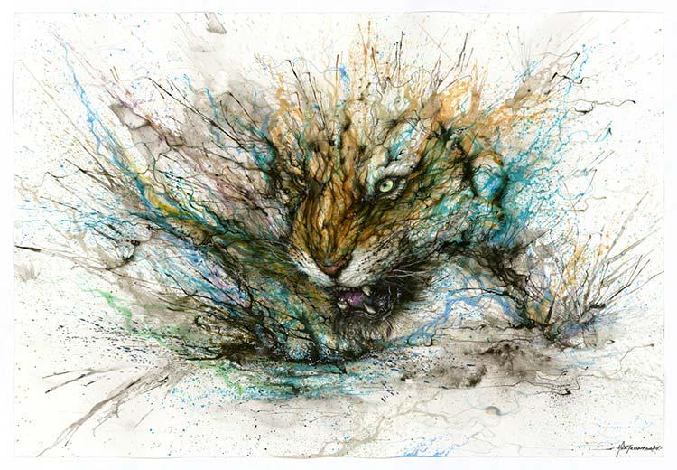 Chen Yingjie - Крадущийся тигр