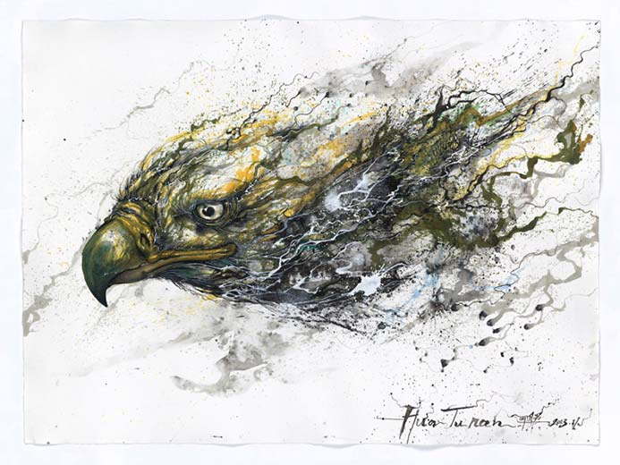 Chen Yingjie - Орел бьет в небе