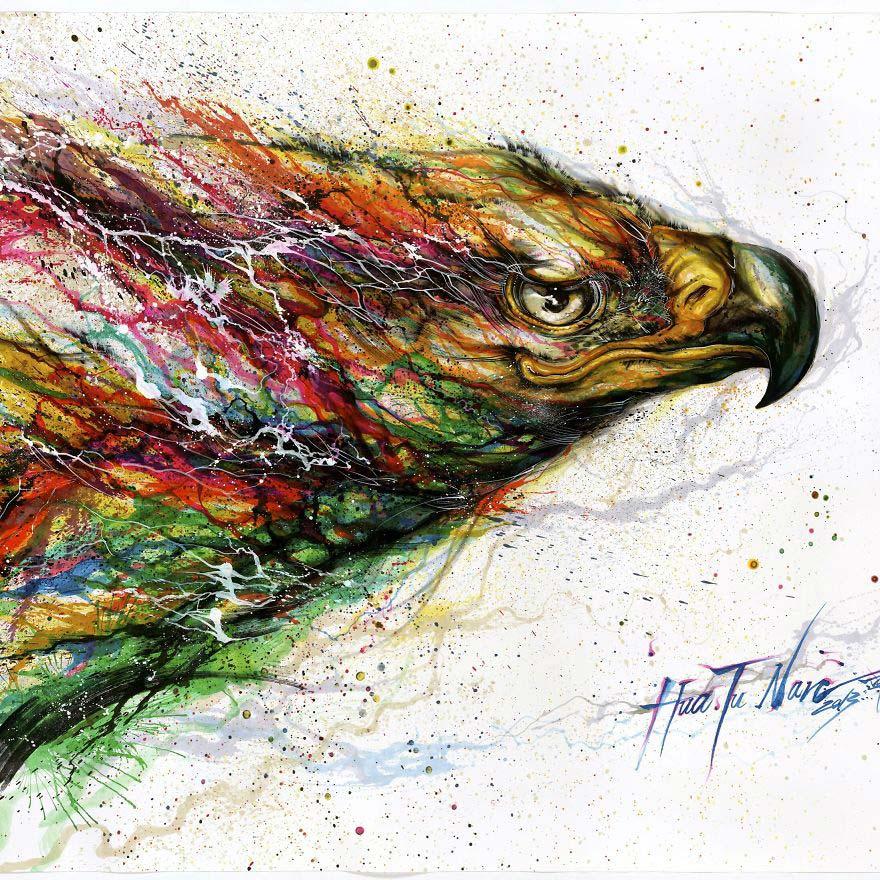 Chen Yingjie - Цветной орел
