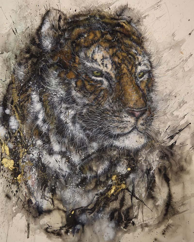 Chen Yingjie - Суматранский тигр